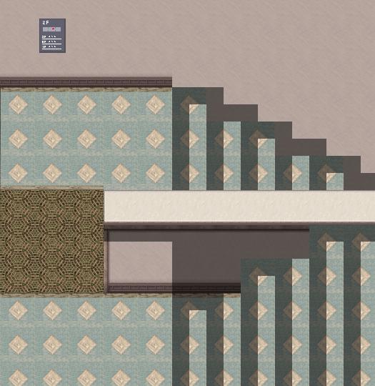 RPGツクールMV 影ペンで作る疑似階段